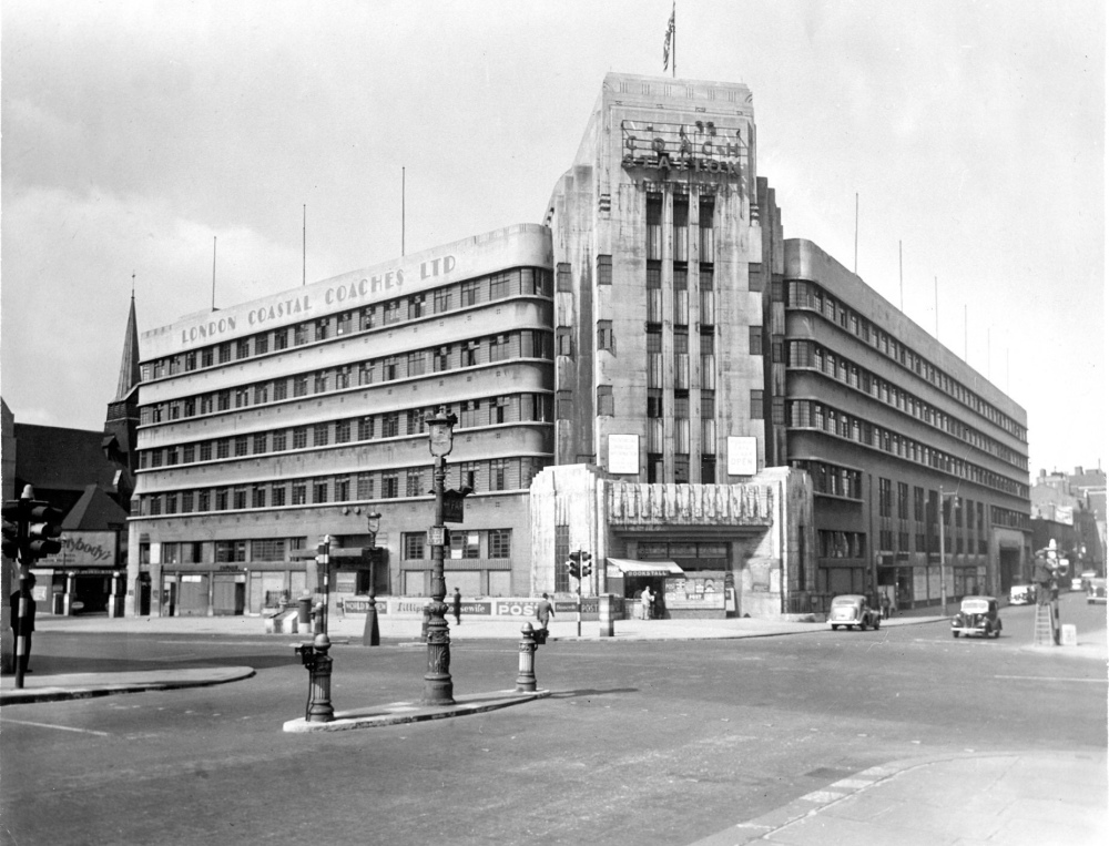 The 'Art Deco' Victoria Coach Station (V.C.S.) by Wallis Gilbert & Partners.