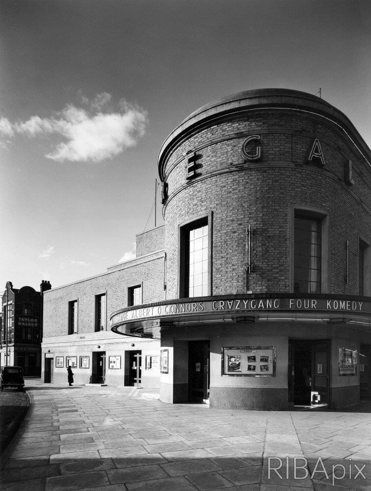 The 'Regal' Cinema, Kennington Road, London S.E.11. © Architectural Press Archive / RIBA Collections