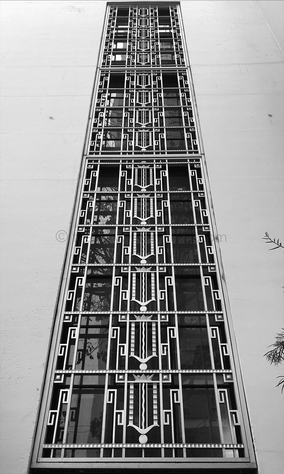 The 'Rincon Annex', 101-199 Mission Street, San Francisco CA. The United States Post Office Building Art Deco Gilbert Stanley Underwood Streamline Moderne Anton Refregier The History of California