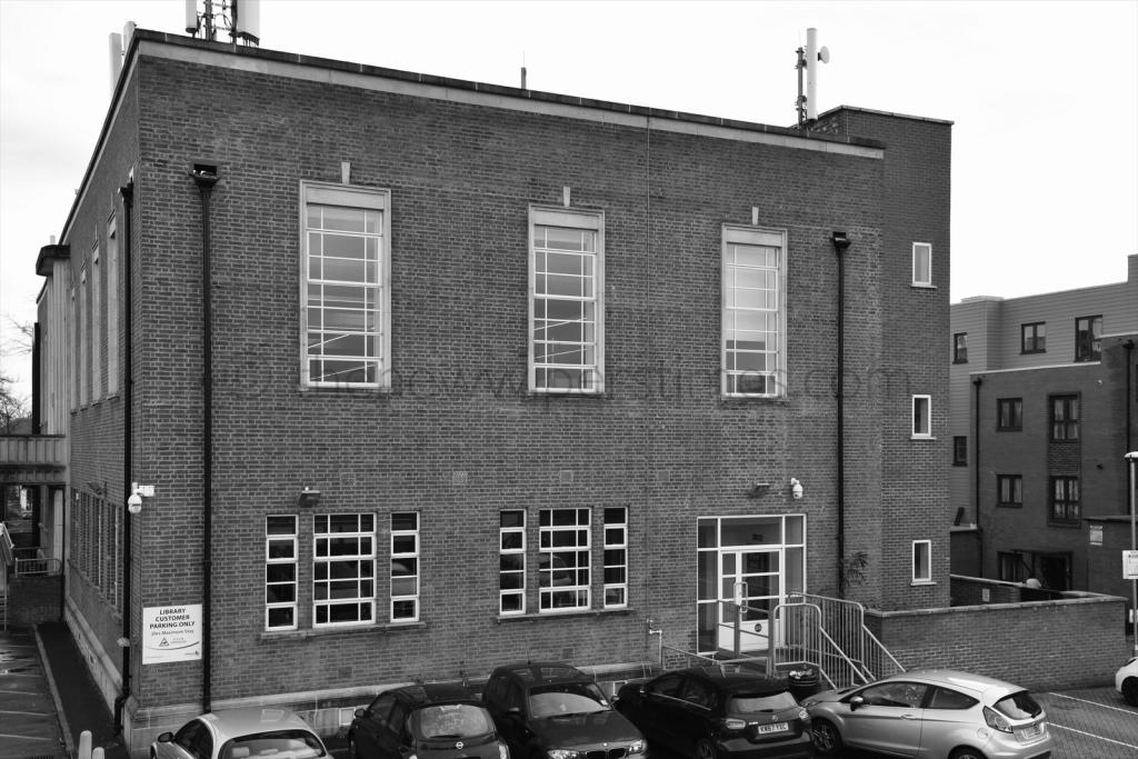 Palmers Green Library Southgate Enfield London Broomfield Road Green Lanes Art Deco Building J.T.W Peat Architect Interwar